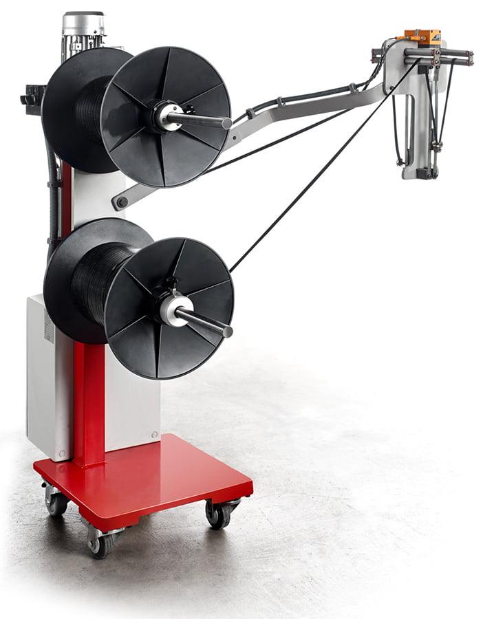 equipos para extrusión desbobinador de flock